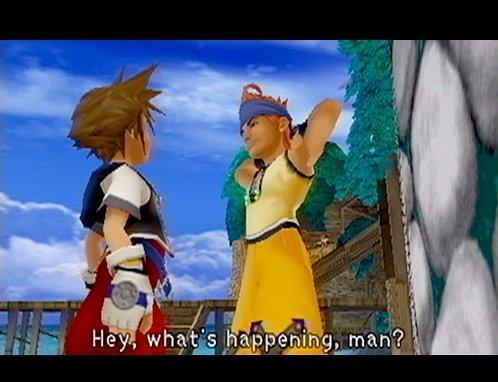 Kingdom Hearts (PS2)  © Square 2002   8/9