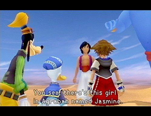 Kingdom Hearts (PS2)  © Square 2002   9/9