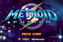 Metroid Fusion (GBA)  © Nintendo 2002   1/5
