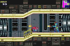 Metroid Fusion (GBA)  © Nintendo 2002   3/5