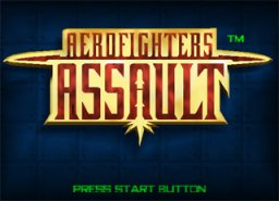 Aero Fighters Assault (N64)  © Video System 1997   1/3
