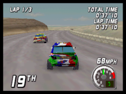 Top Gear Rally (N64)  © Midway 1997   3/4