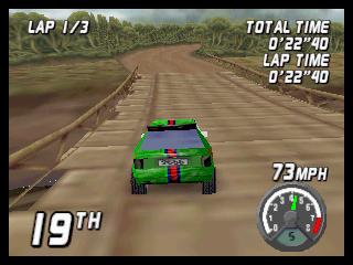 Top Gear Rally (N64)  © Midway 1997   4/4