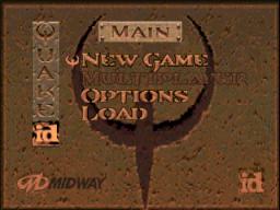 Quake (N64)  © GT Interactive 1998   1/3