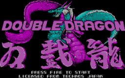 Double Dragon (PC)  ©  1988   1/3