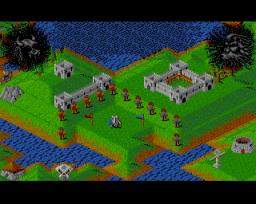 Populous (AMI)  © EA 1989   1/3