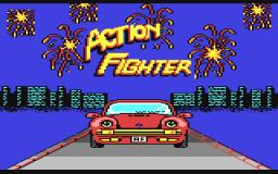 Action Fighter (C64)  © Firebird 1989   1/2