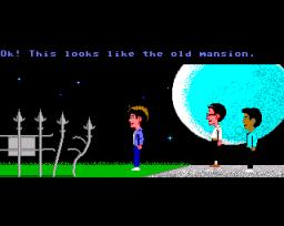 Maniac Mansion (AMI)  © LucasArts 1988   1/3