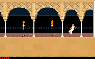 Prince Of Persia (PC)   © Brøderbund 1989    4/25