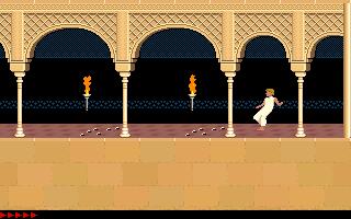 Prince Of Persia (PC)  © Brøderbund 1989   4/25