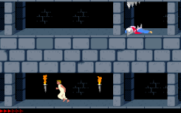 Prince Of Persia (PC)   © Brøderbund 1989    1/25