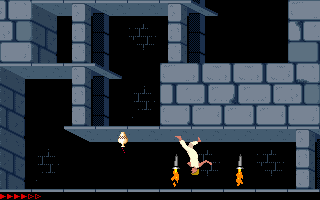 Prince Of Persia (PC)   © Brøderbund 1989    20/25