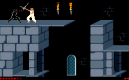 Prince Of Persia (PC)   © Brøderbund 1989    2/25