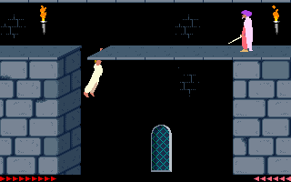 Prince Of Persia (PC)   © Brøderbund 1989    22/25