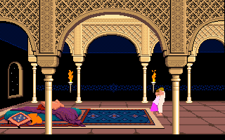 Prince Of Persia (PC)   © Brøderbund 1989    24/25
