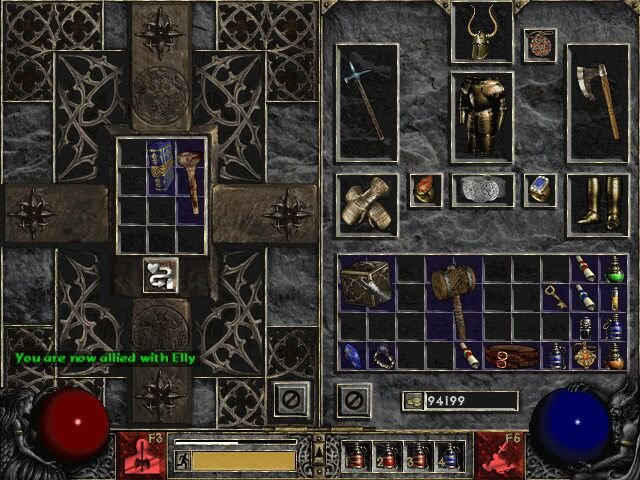Diablo II (PC)   © Blizzard 2000    5/6