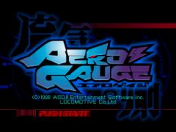 AeroGauge (N64)  © ASCII 1997   1/3