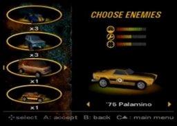 Vigilante 8 (N64)  © Activision 1999   1/3