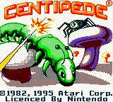 Centipede (GBC)  © Majesco 1998   1/3