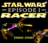 Star Wars: Episode I: Racer (GBC)   © Nintendo 1999    1/3