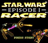 Star Wars: Episode I: Racer (GBC)  © Nintendo 1999   1/3