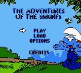 The Adventures Of The Smurfs (GBC)  © Infogrames 2000   1/3