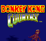 Donkey Kong Country (GBC)  © Nintendo 2000   1/3