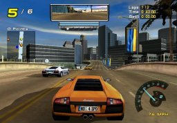 Need For Speed: Hot Pursuit 2 (GCN)   © EA 2002    3/5