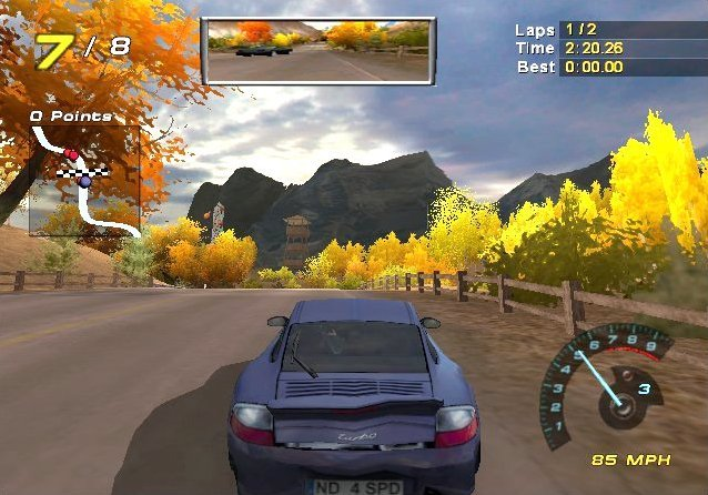 Need For Speed: Hot Pursuit 2 (GCN)   © EA 2002    5/5