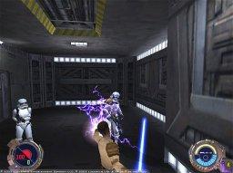 Star Wars: Jedi Knight II: Jedi Outcast (GCN)  © LucasArts 2002   2/5