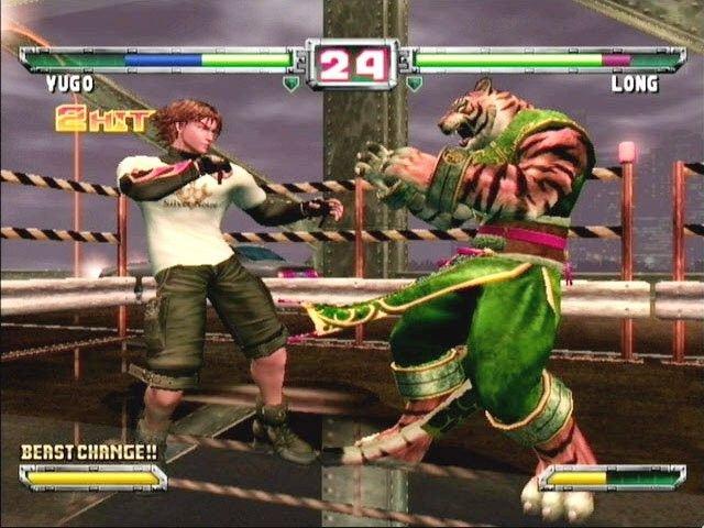 Bloody Roar: Primal Fury (GCN)  © Activision 2002   5/6