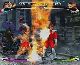 Capcom Vs. SNK: Millennium Fight 2000 PRO  © Capcom 2002  (PS1)   2/3