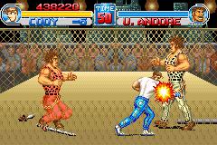 Final Fight One (GBA)  © Ubisoft 2001   5/6