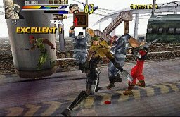 Gekido: Urban Fighters (PS1)   © Infogrames 2000    3/3
