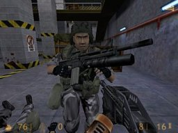 Half-Life (PS2)  © VU Games 2001   3/3