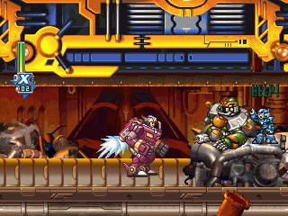 Mega Man X6  © Capcom 2001  (PS1)   4/4