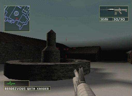 Rainbow Six: Lone Wolf   © Ubisoft 2002   (PS1)    4/4