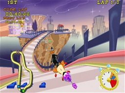 Looney Tunes: Space Race   © Infogrames 2000   (PS2)    2/3