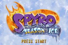 Spyro: Season Of Ice (GBA)  © Universal Interactive 2002   1/4