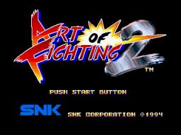 Art Of Fighting 2 (MVS)  © SNK 1994   1/6
