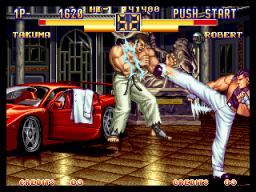 Art Of Fighting 2 (MVS)  © SNK 1994   3/6
