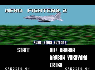 Aero Fighters  2 (MVS)   © SNK 1994    7/8