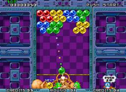 Puzzle Bobble (MVS)  © SNK 1994   3/4