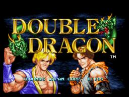 Double Dragon (1995) (MVS)  © SNK 1995   1/3