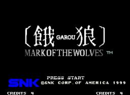 Garou: Mark Of The Wolves (MVS)  © SNK 1999   4/6