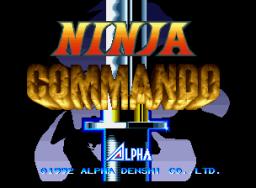 Ninja Commando (1992) (MVS)  © SNK 1992   1/4