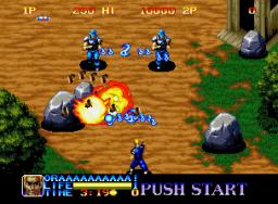 Ninja Commando (1992) (MVS)  © SNK 1992   3/4