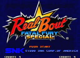 Real Bout Fatal Fury Special (MVS)   © SNK 1996    1/6