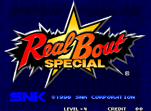 Real Bout Fatal Fury Special (MVS)   © SNK 1996    4/6