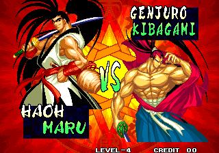 Samurai Shodown IV: Amakusa's Revenge (MVS)  © SNK 1996   7/7